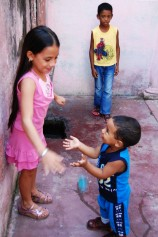 Getsemani children playing